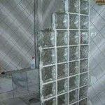 Banheiro Com Blocos de Vidro