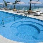piscina com hidro