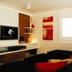 Decoração de sala com TV