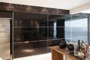 cozinha com porta de vidro 4
