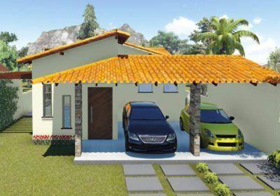 Casas com alpendre