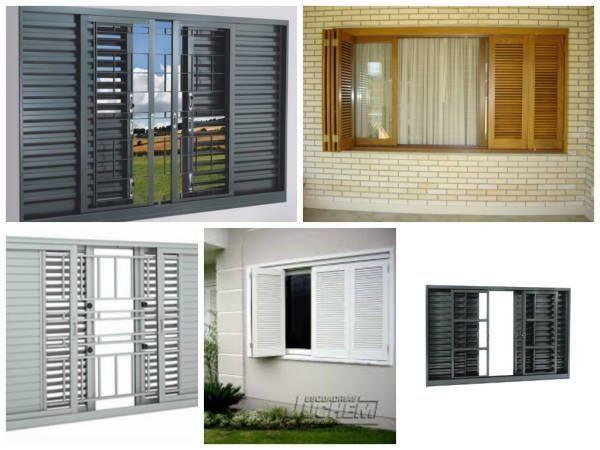 tipos de janelas para casa : 35 Tipos de Janelas: Blindex, Modernas e Mais! ? Decora??o ...
